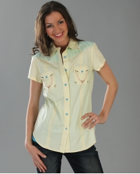 Cruel® Ladies' May Short Sleeve Solid Shirt