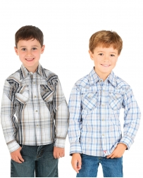 Wrangler® Boys' Assorted Western Snap Shirt