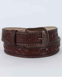 3D© Men's Chocolate Western Belt