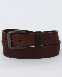 Georgia Boot© Men's Soggy Brown Leather Belt