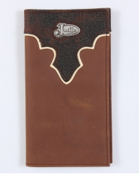 Justin® Men's Tan Distressed Rodeo Wallet