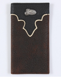 Justin® Men's Brown Bull Rodeo Wallet