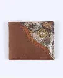 Justin® Men's Jow Tan Distressed Bi-fold Wallet