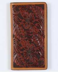 Tony Lama® Men's Tan Floral Rodeo Wallet