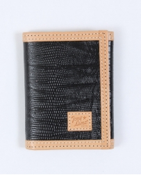 Tony Lama® Men's Lizard Print Tri-fold Wallet