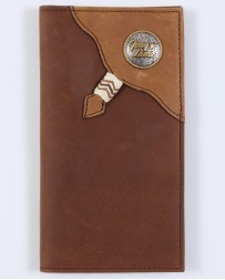 Tony Lama® Men's Distressed Brown Rodeo Wallet