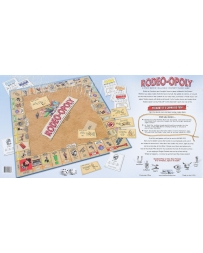 Rodeo-opoly Board Game