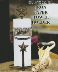 Western Moments® Silverado Iron Paper Towel Holder