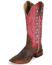 Anderson Bean Horse Power® Men's Red Javelina Toast Bison Boots