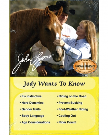 "John Lyons® ""Jody Wants To Know"" Book"