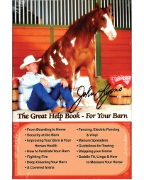 "John Lyons® ""Great Help Book - For Your Barn"" Book"