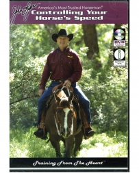 "John Lyons® ""Control Your Horse Speed"" 3 DVDs"