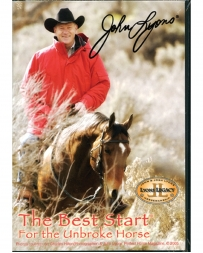 "John Lyons® ""Best Start-unbroken Horse"" 4DVDs"