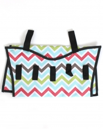 Ladies' Chevron Hanging Jewelry Organizer